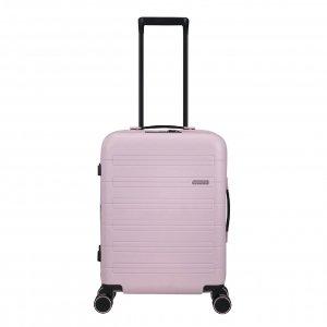 American Tourister Novastream Spinner 55 Exp soft pink Harde Koffer
