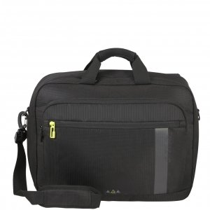 American Tourister Work-E 3-Way Boarding Bag black Handbagage koffer