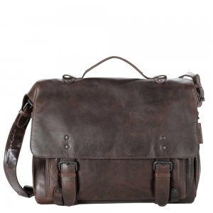 """Aunts & Uncles The Workmates Trouble Shooter Business Bag with Notebook Compartment 15"""" humus"""