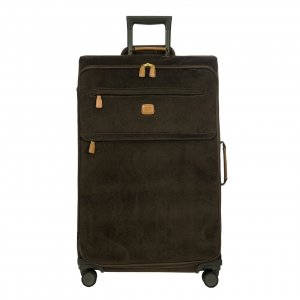 Bric's Life Trolley 77 olive II Zachte koffer
