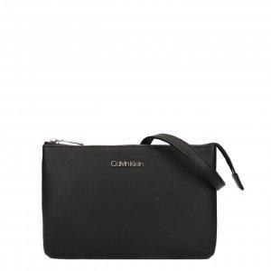 Calvin Klein Double Compartment Crossbodybag black