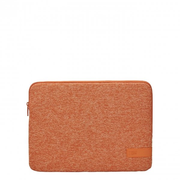 Case Logic Reflect Laptop Sleeve 14 inch coral gold/apricot Laptopsleeve