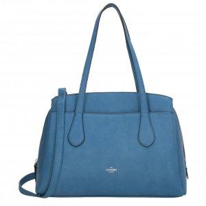 Charm London Stratford Shopper jeansblauw Damestas