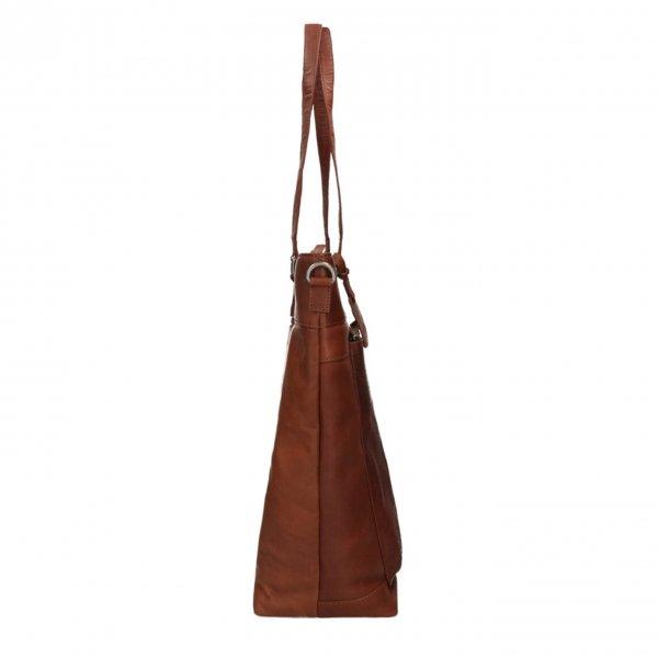 "Dimagini Classics 15"" Croco Business Shopper brown van Leer"