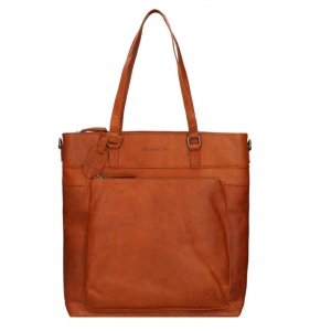 "Dimagini Classics 15"" Leather Business Shopper cognac"