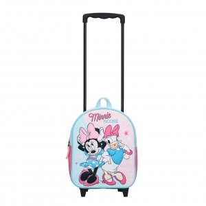 Disney Trolley Rugzak Minnie Mouse Simply Sweet (3D) pink Kinderkoffer