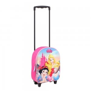 Disney Trolley Rugzak Princess Enchanted 3D pink Kinderkoffer