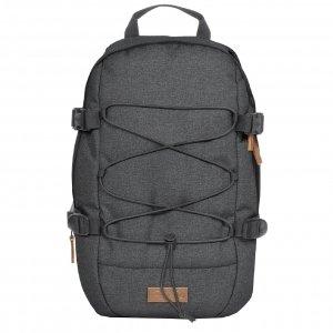 Eastpak Borys Rugzak black denim backpack