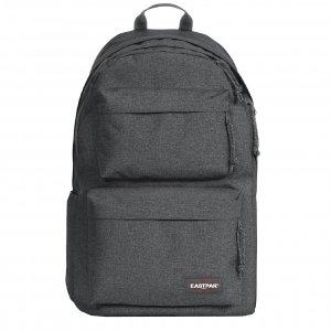 Eastpak Padded Double Rugzak black denim backpack