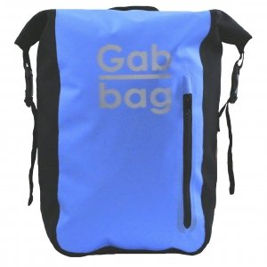 Gabbag Reflective Waterdichte Rugzak 25L blauw backpack