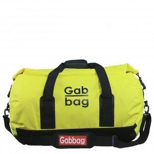 Gabbag Waterdichte Reistas 65L geel Weekendtas