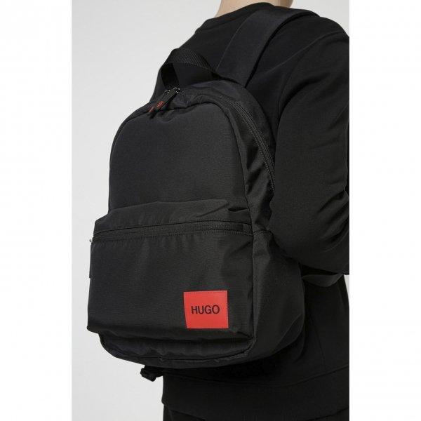 Hugo Boss Ethon Backpack black backpack van Polyester