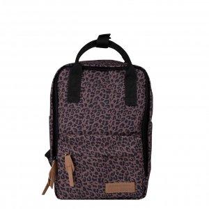 Little Indians Girls Backpack leopard brown