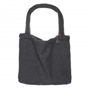 Mozz Mom Bag Easy Going Boucle donkergrijs Damestas