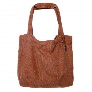 Mozz Mom Bag Easy Going Coduroy cognac Damestas