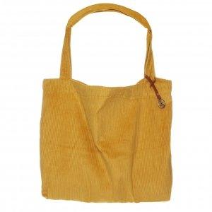 Mozz Mom Bag Easy Going Coduroy oker Damestas