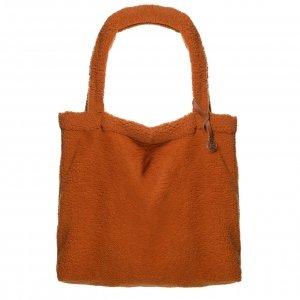Mozz Mom Bag Easy Going Teddy cognac Damestas