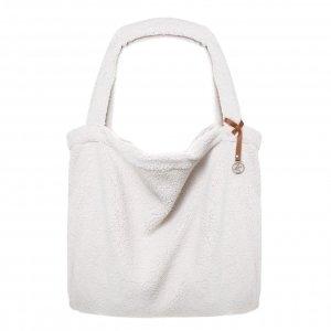 Mozz Mom Bag Easy Going Teddy creme Damestas