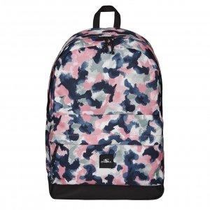 O'Neill BM Coastline Graphic Backpack blue aop w/red backpack