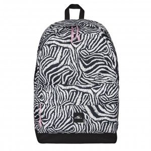 O'Neill BM Coastline Graphic Backpack white aop backpack