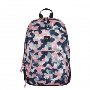 O'Neill BM Wedge Backpack blue aop w/red backpack