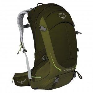 Osprey Stratos 34 Backpack S/M gator green backpack