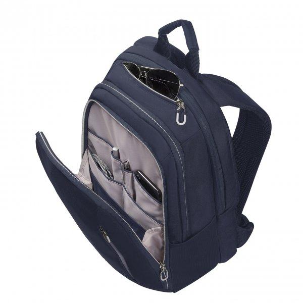 Samsonite Guardit Classy Backpack 14.1'' midnight blue backpack van Polyester
