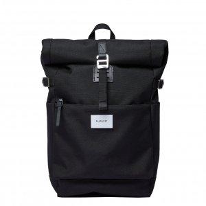 Sandqvist Ilon Backpack black Laptoprugzak