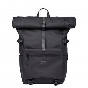 Sandqvist Ruben 2.0 Backpack black Laptoprugzak