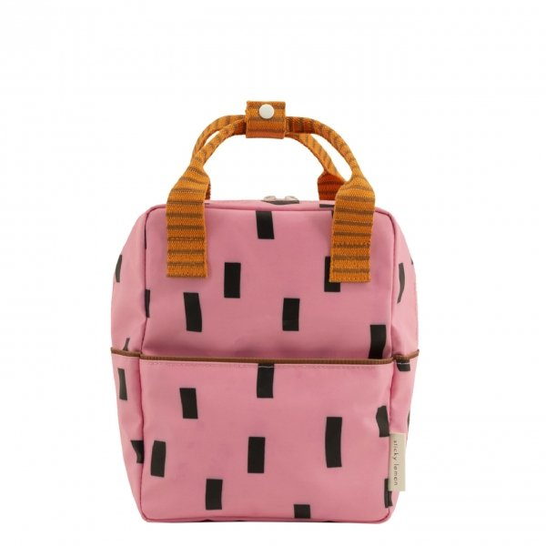 Sticky Lemon Sprinkles Special Edition Backpack Small bubbly pink carrot orange syrup brown backpack