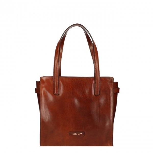 The Bridge Bianca Shopping Bag brown Damestas