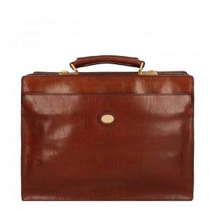 The Bridge Story Uomo Cartella Briefcase 40cm brown Aktetas