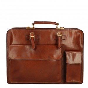 The Bridge Story Uomo Cartella Briefcase 42cm brown Aktetas