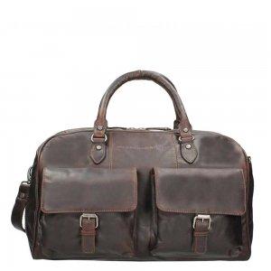 The Chesterfield Brand Wesley Travelbag brown Weekendtas