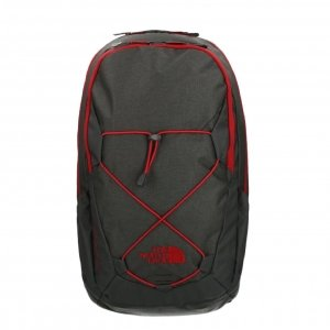 The North Face Groundwork Backpack tnf darkgrey/cardinal red