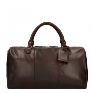 Travelbags The Weekender Duffel brown Weekendtas