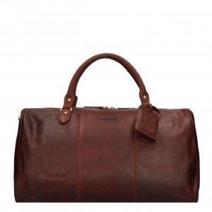 Travelbags The Weekender Duffel cognac Weekendtas