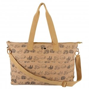 Trixie Silly Sloth Diaper Bag ocher Luiertas