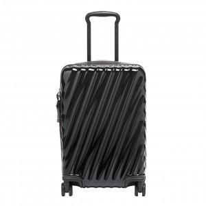 Tumi 19 Degree International Expandable 4 Wheel Trolley black Harde Koffer