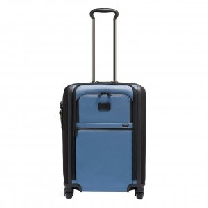 Tumi Alpha Continental Dual Access 4 Wheeled Carry-On storm blue Zachte koffer
