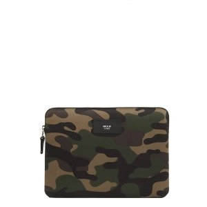 Wouf Camouflage iPad hoes army green Laptopsleeve