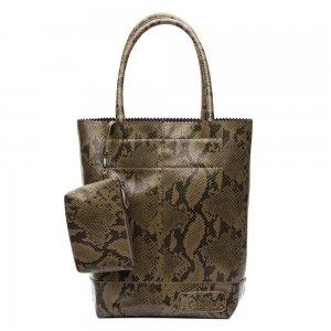 Zebra Trends Natural Bag Kartel Snake python army Damestas