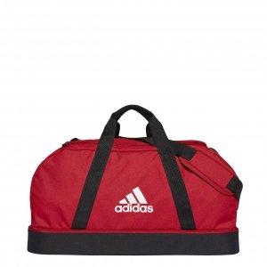 Adidas Tiro Sporttas met Bodemcompartiment M team power red/black/white