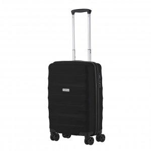CarryOn Porter Trolley 55 black Harde Koffer