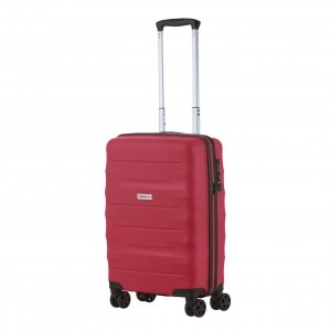 CarryOn Porter Trolley 55 red Harde Koffer