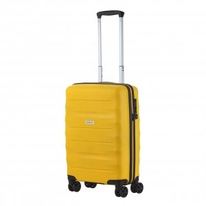 CarryOn Porter Trolley 55 yellow Harde Koffer