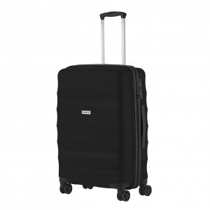 CarryOn Porter Trolley 66 black Harde Koffer