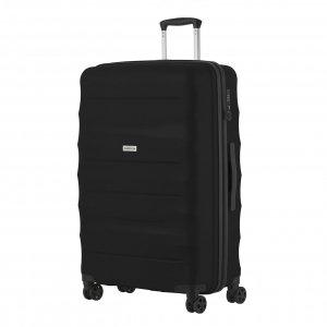 CarryOn Porter Trolley 77 black Harde Koffer