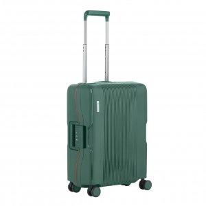 CarryOn Protector 4 Wiel Trolley 55 green Harde Koffer