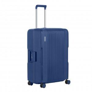 CarryOn Protector 4 Wiel Trolley 66 blue Harde Koffer